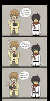 Death Note x Gundam 00 - God of the New World by MapleRose