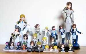 Mwu x Murrue Figure Collection by MapleRose