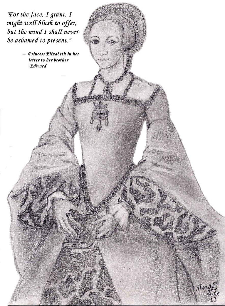 Princess Elizabeth Tudor by MapleRose
