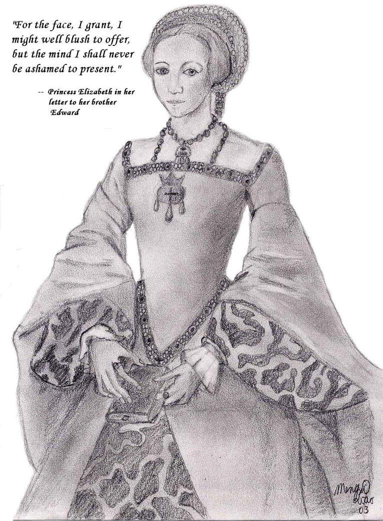 Princess Elizabeth Tudor by MapleRose
