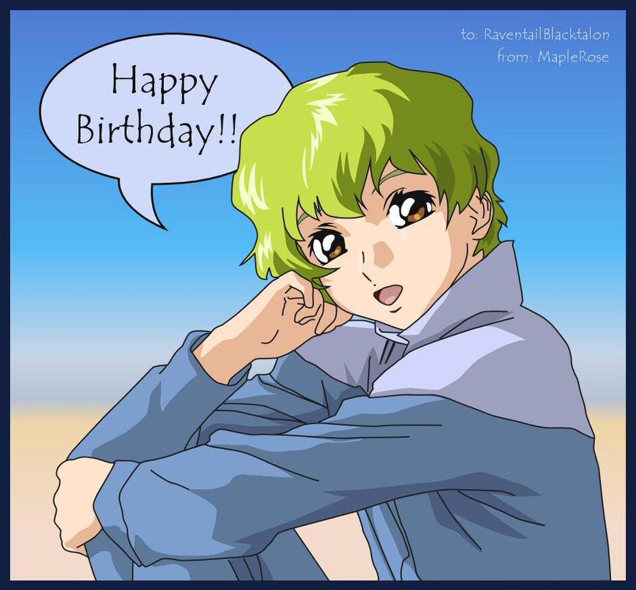 Birthday Wishes by MapleRose