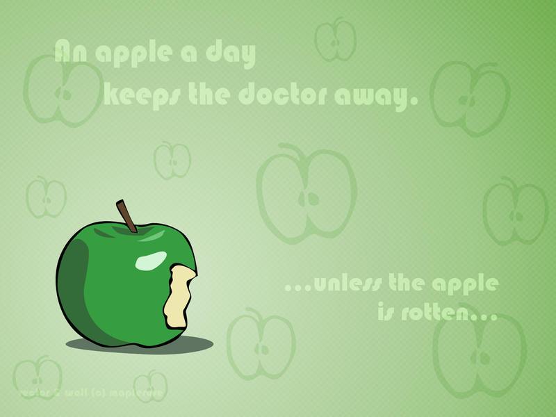 essay an apple a day keeps