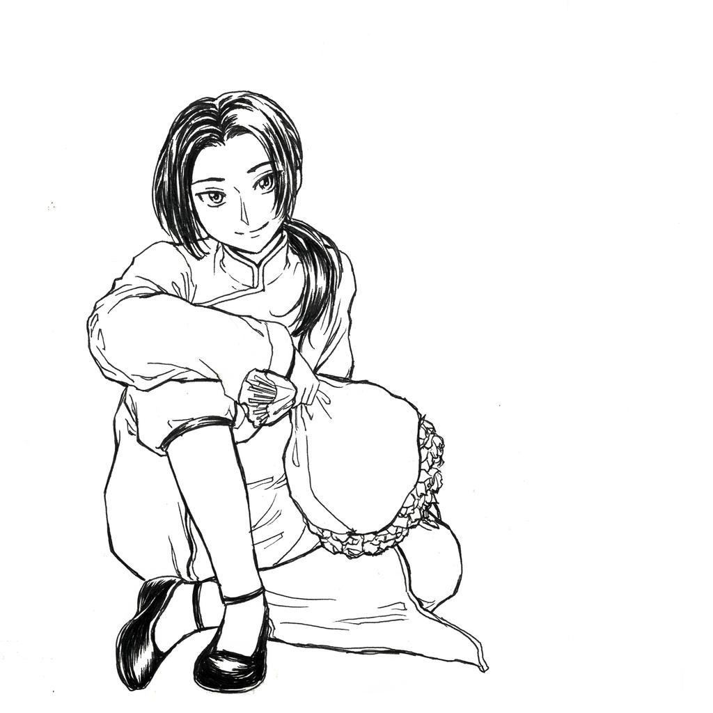 (Hetalia) China sketch