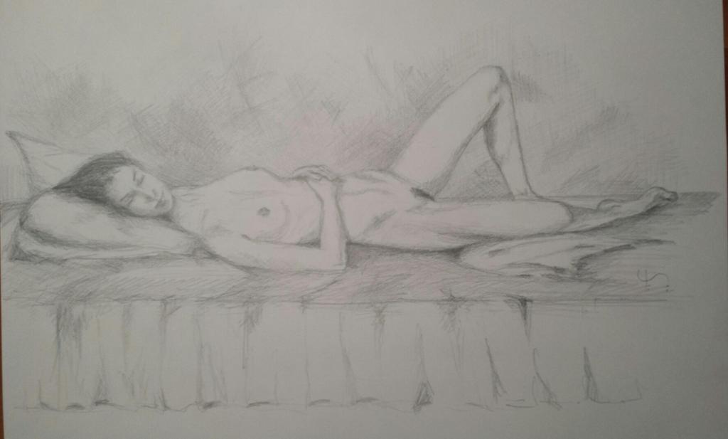 Sleeping beauty by EugeneTheCounter