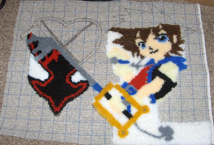 Sora rug 2 by Colt-kun