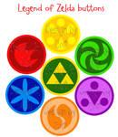 Buttons: Zelda set 1
