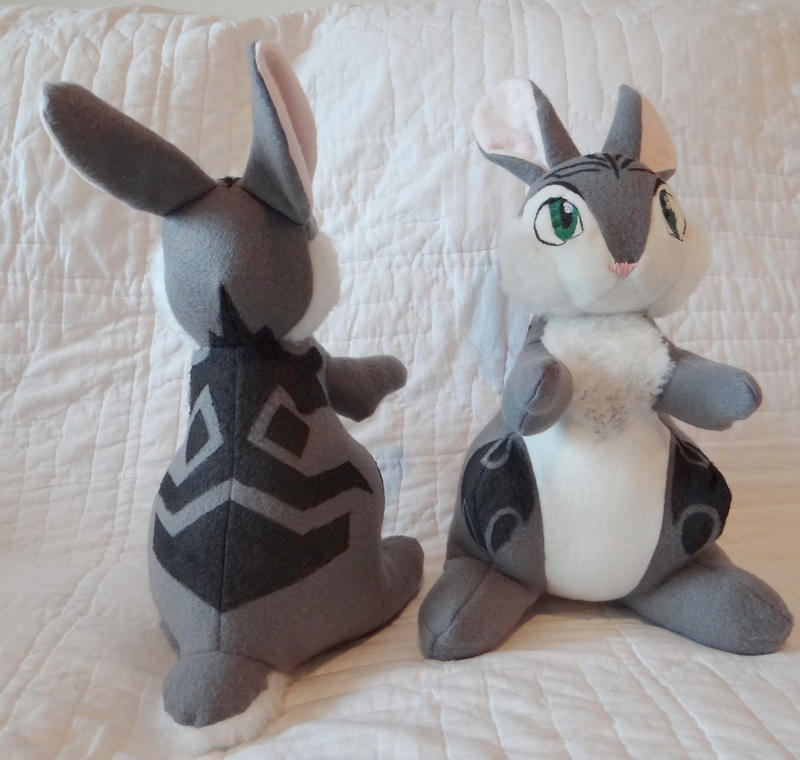 Rise Of The Guardians Bunnymund Plush By Colt Kun