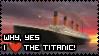 Titanic Stamp by rockstarcrossing