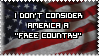 Not A Free Country To Me by rockstarcrossing