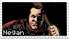 The Walking Dead Comic Negan Stamp by rockstarcrossing