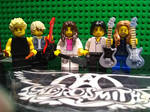 Lego Aerosmith by rockstarcrossing