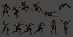 Scorpion Injustice poses