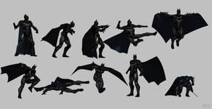 Batman injustice poses
