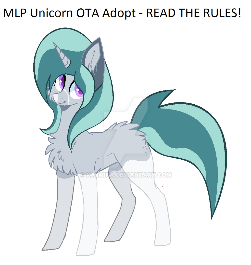 MLP Unicorn OTA Adopt | Open, Read Rules. by Kaiimira