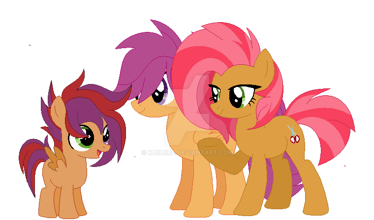 Scootababs Family - Truffles by Kaiimira