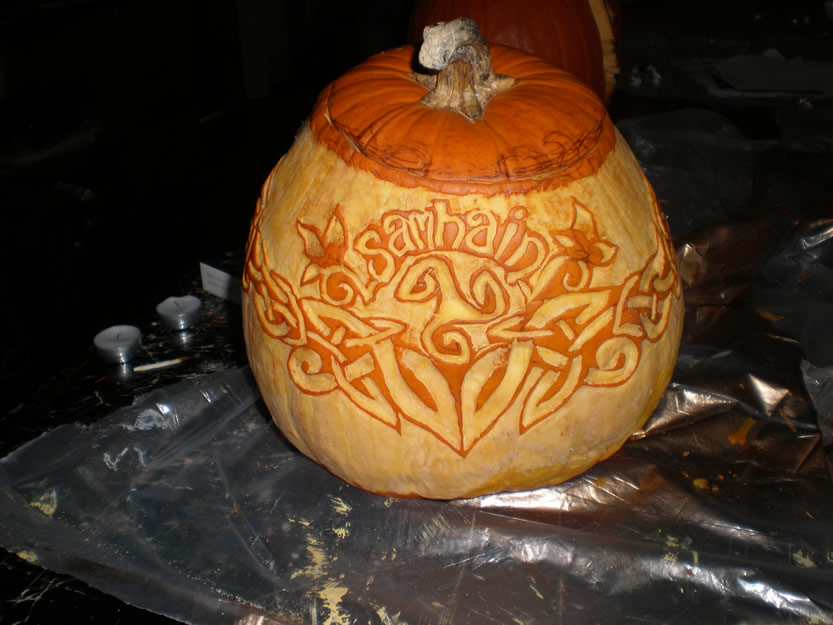 Celtic Pumpkin by LaylaMarieGallagher
