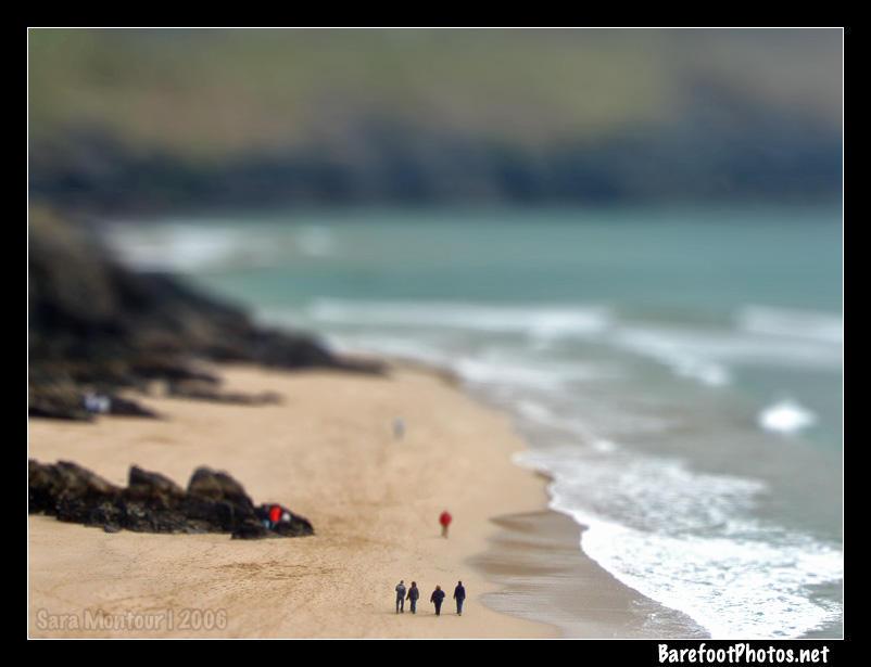 Beach - Tilt Shift by b4refo0tmu5ic