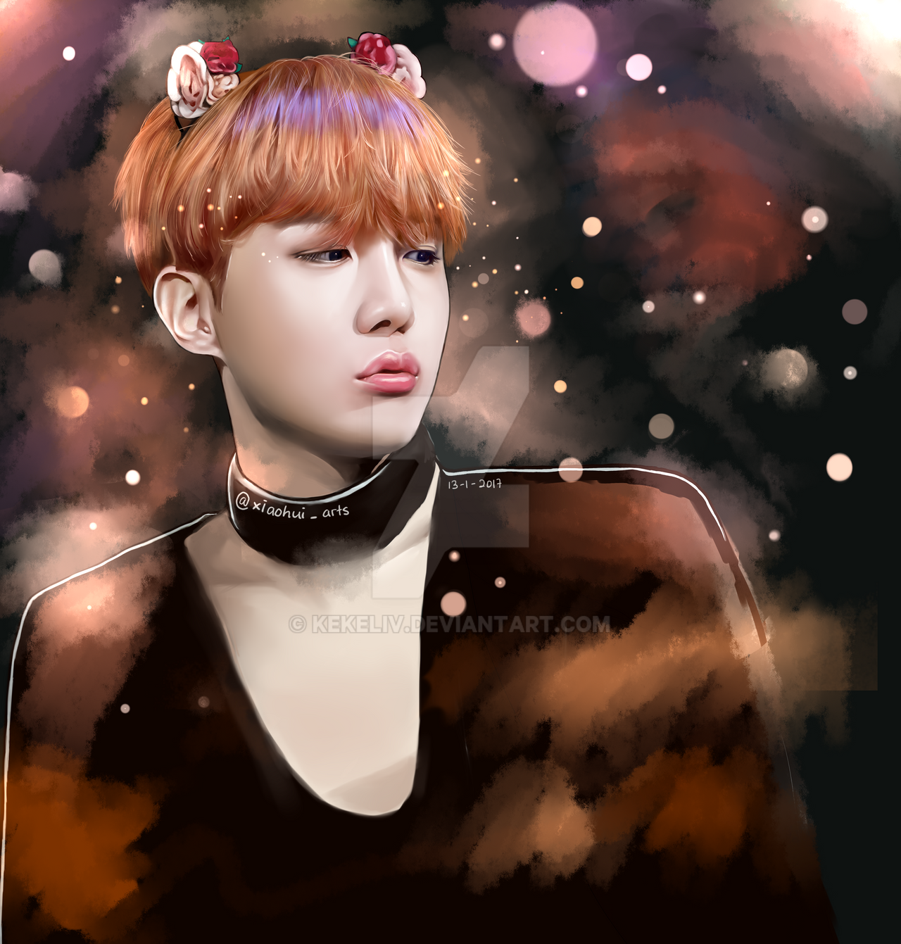 BTS J-Hope Fanart by KekeLiv