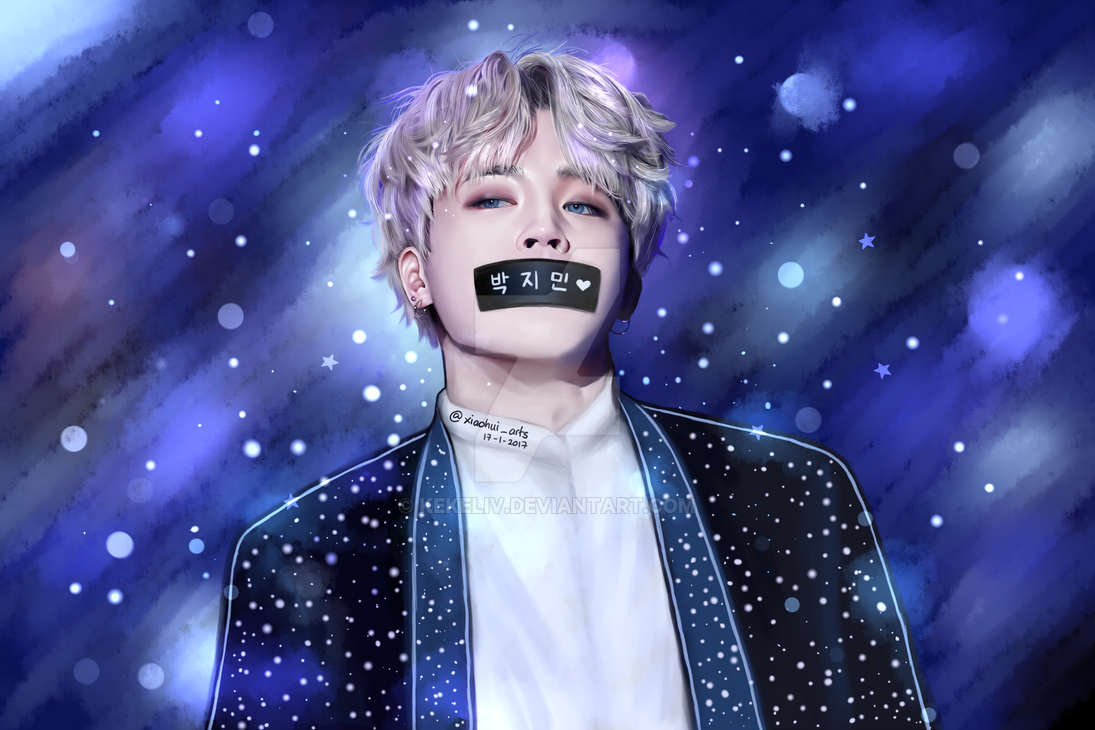 BTS Park Jimin Fanart (with Duct Tape) By KekeLiv On