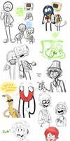Tumblr doodles 1