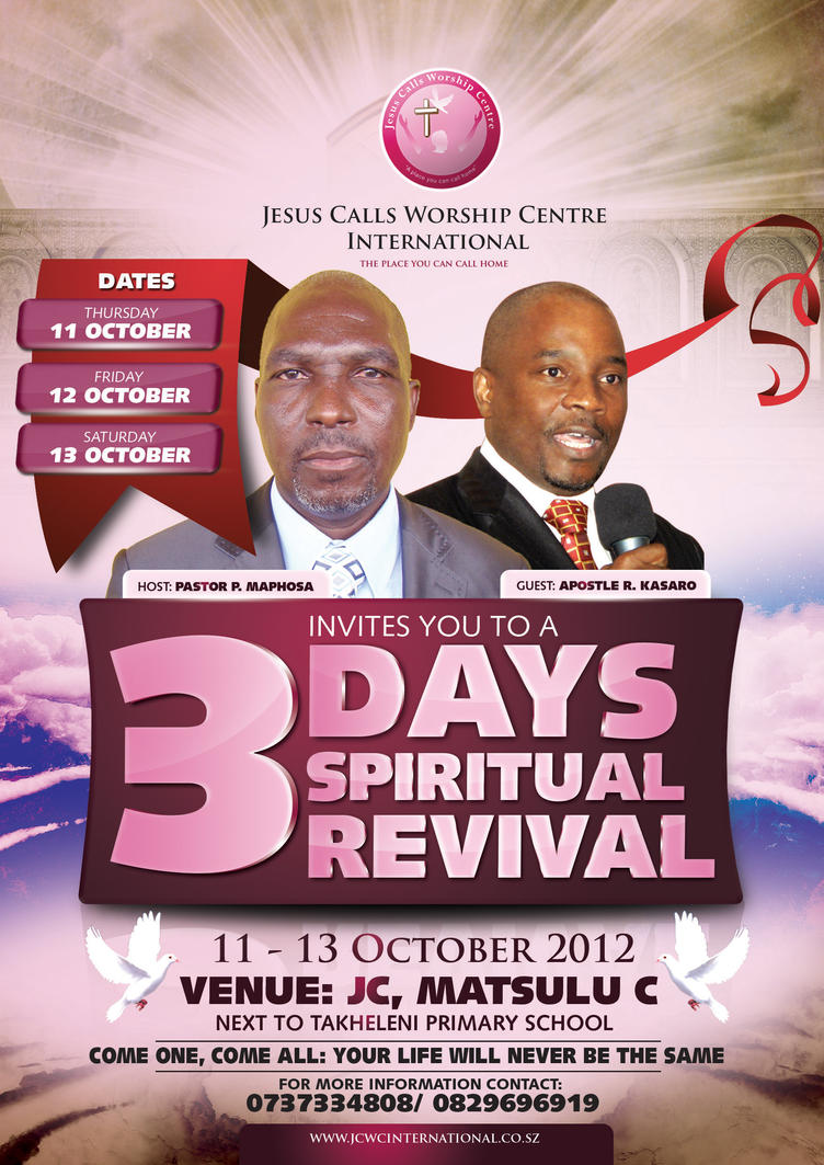 3 Days Spiritual Revival by wuwiz