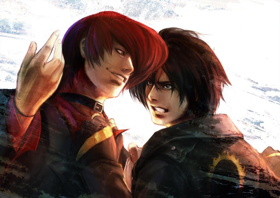 KOF - IORI VS KYO by evilgunKing Of Fighters Kyo Vs Iori