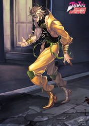 Jojo's Bizarre Adventure - DIO by evilgun