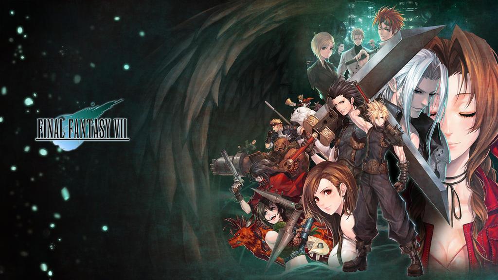 final fantasy 7 wallpaper by evilgun on deviantart
