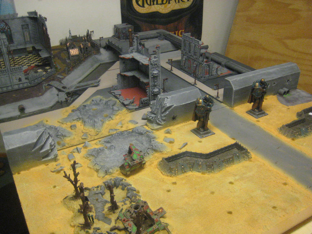 40k gaming table by timlizard1991 on deviantart