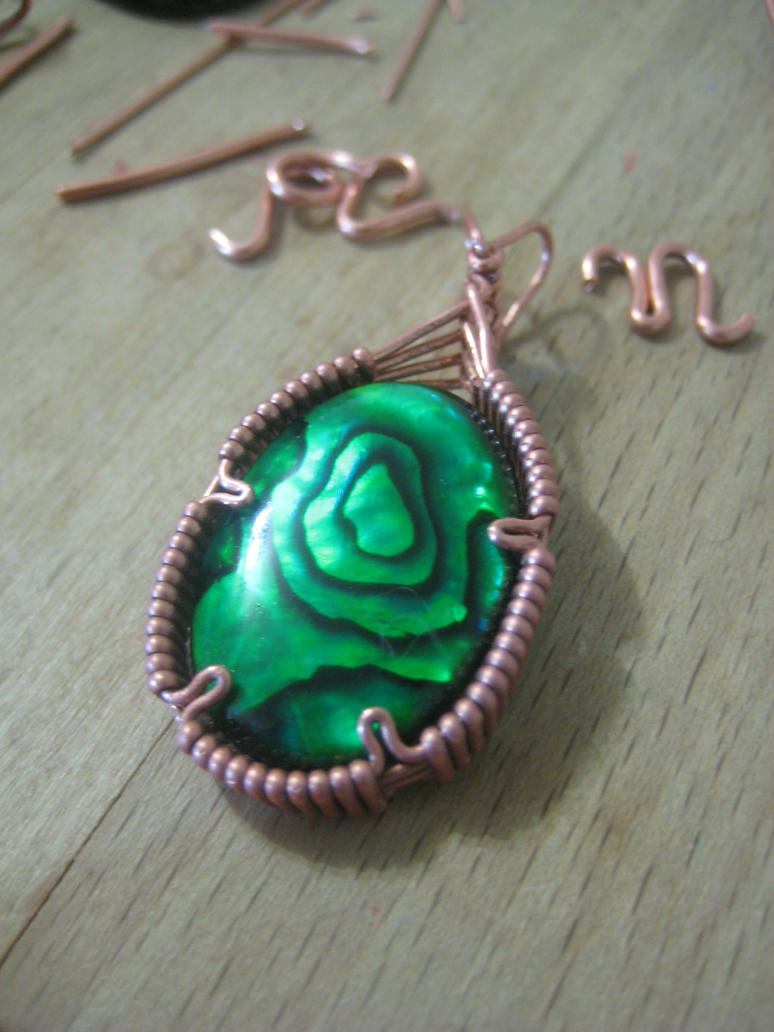 Pendant for red girl by TimLizard1991