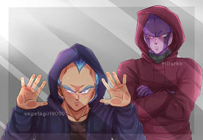 COLLAB: hsbnds in hoodies by Vegeebs