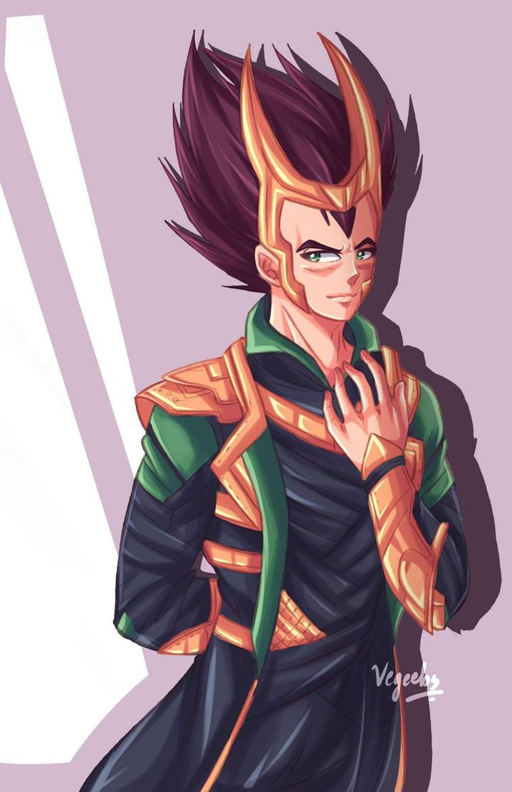 Saiyan Prince of Asgard by Vegeebs