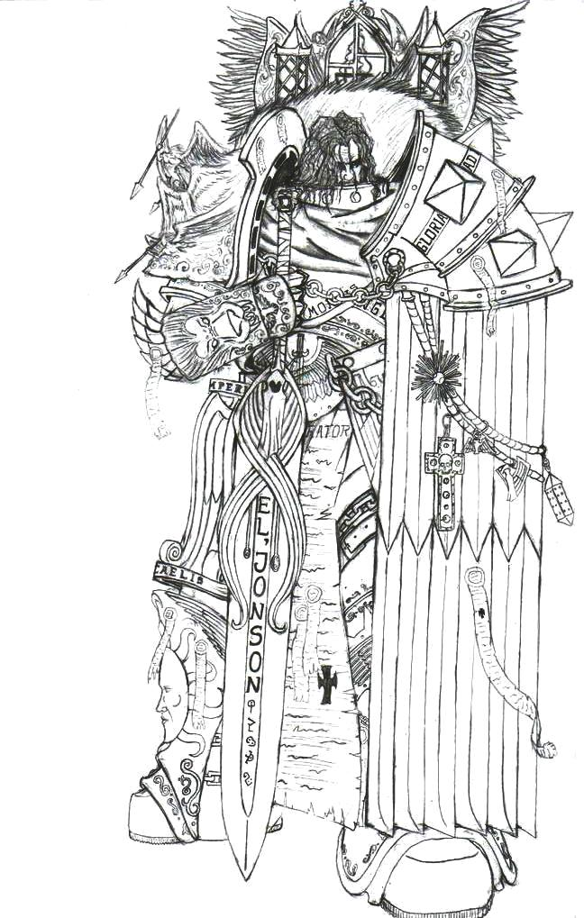 Lion El Jonson by Greyall