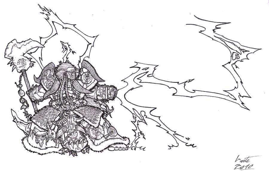 Khernaz, Orc Demonhunter by Greyall