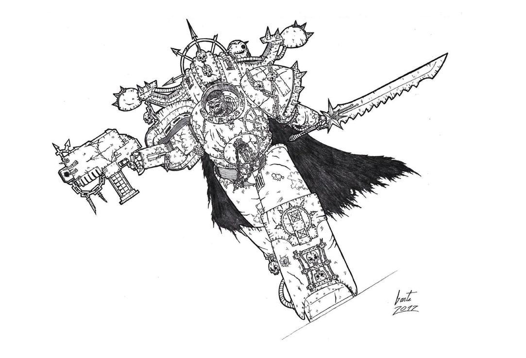 Akan The Reaver - Chaos Corsair by Greyall