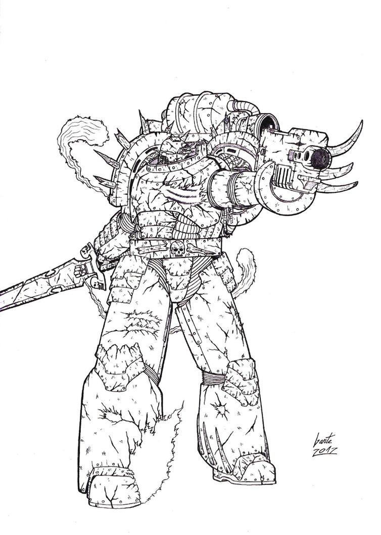 Infernal Guard by Greyall