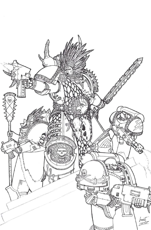 Warhammer 40k rulebook 6th edition