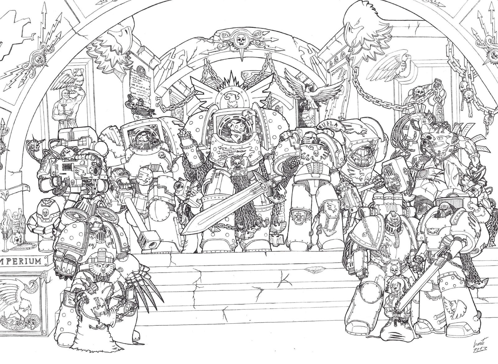 [W40K] Collection d'images : Space Marines School_of_astarthens_by_greyall-d5zc9ro
