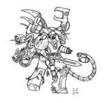 Lars Orcan - Raven Guard Techmarine