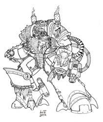 Clee Scar'mang - Salamanders Centurion