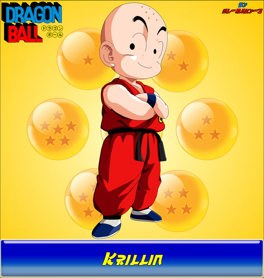 DB-Krillin by el-maky-z
