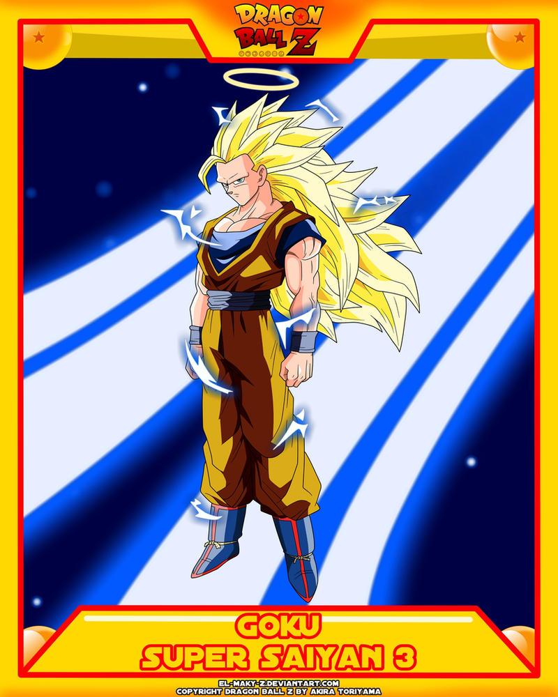 DBZ-Goku SSJ3 by el-maky-z