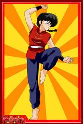 Ranma (Male Version) by el-maky-z