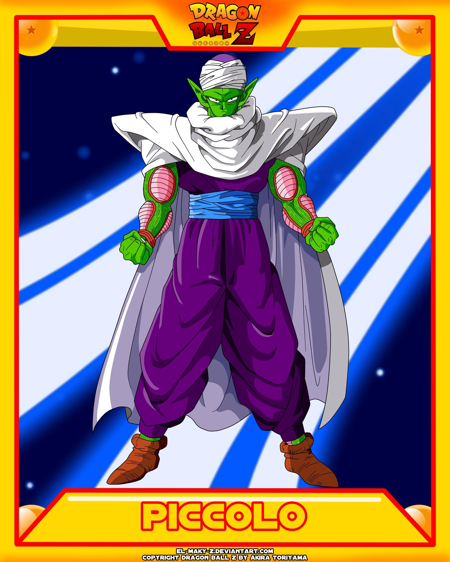 DBZ-Piccolo by el-maky-z