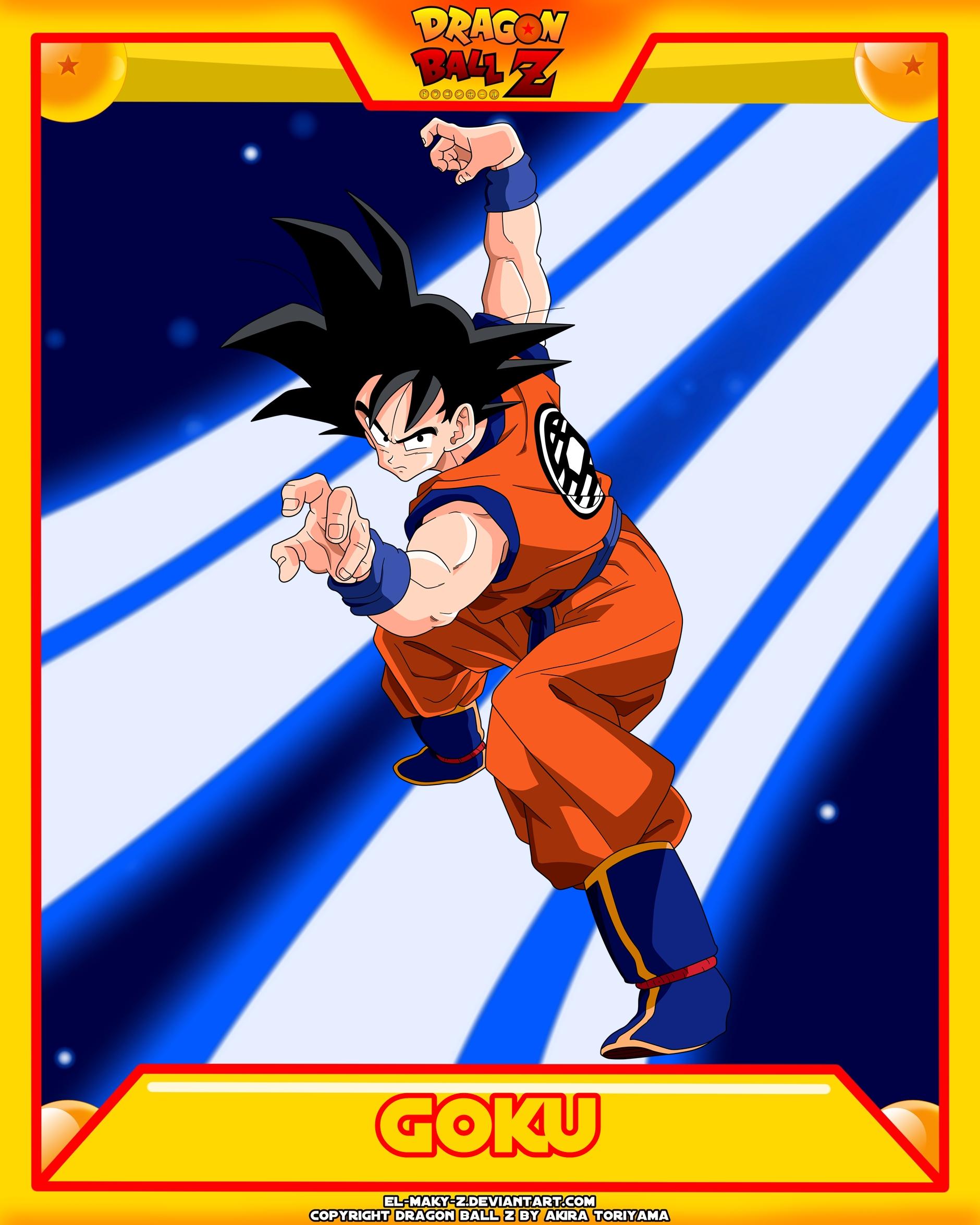 DBZ-Goku V4 by el-maky-z
