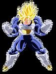 Goku Super Saiyan Dai San Dankai V2 by el-maky-z