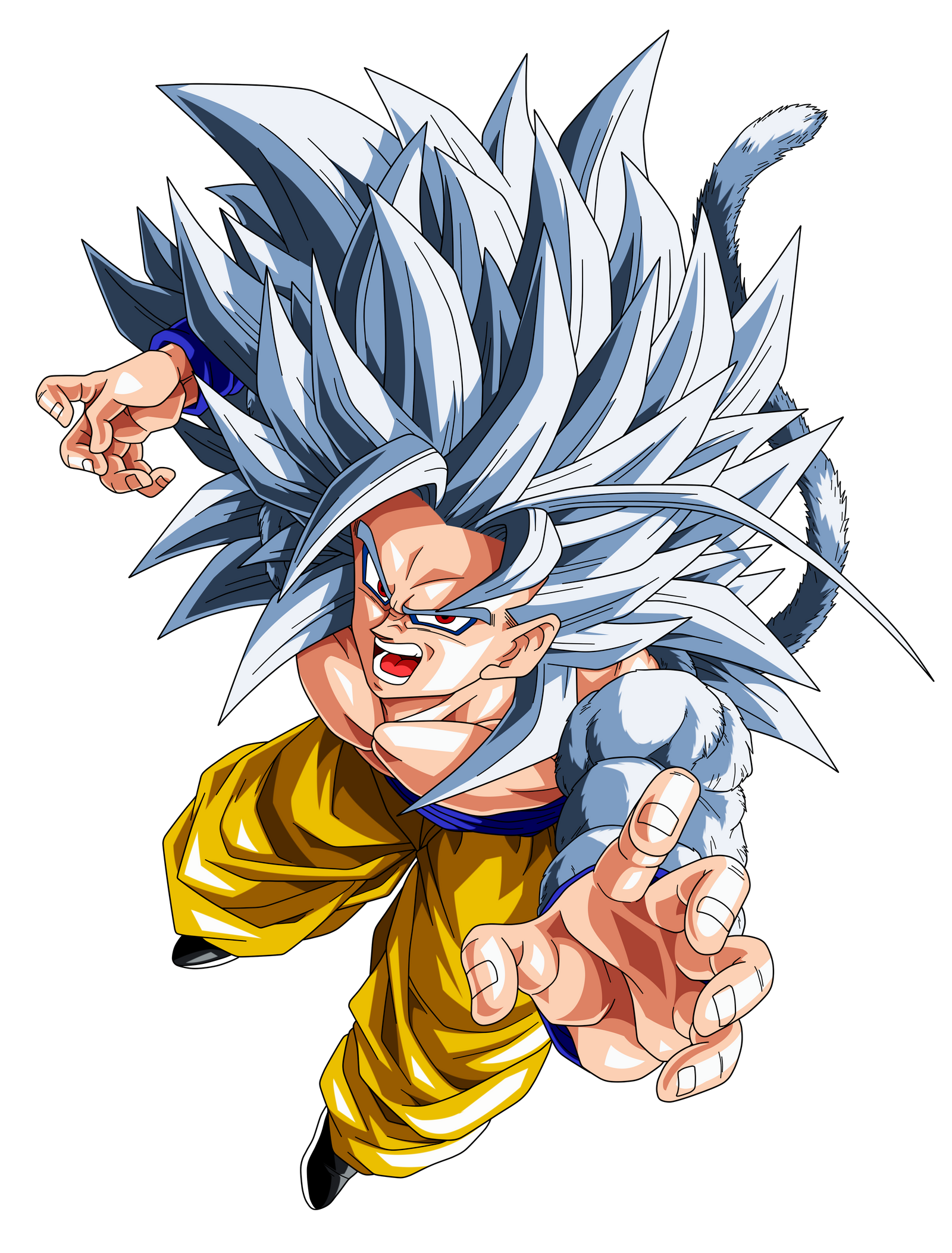 Goku super saiyan 5 by el maky z on deviantart - Goku 5 super saiyan ...