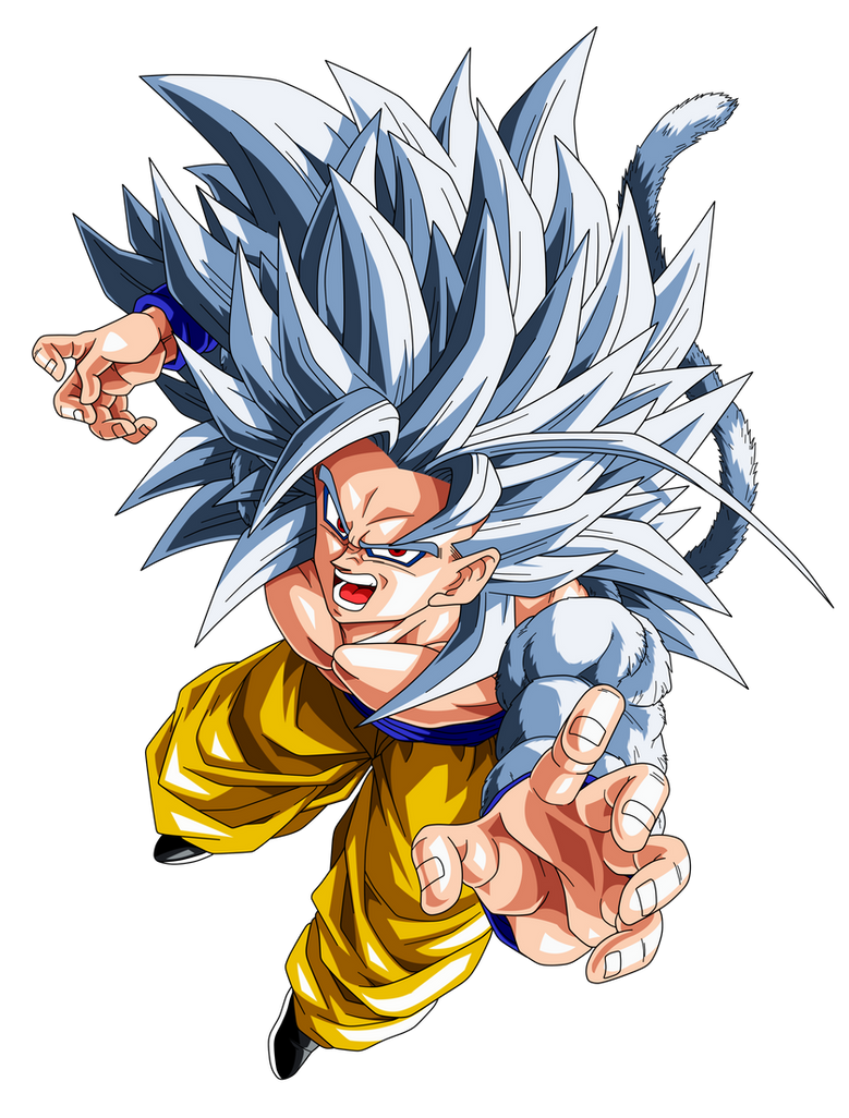 Goku super saiyan 5 by el maky z on deviantart - Super sayen 10 ...