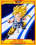 DBGT-Kid Goku SSJ by el-maky-z