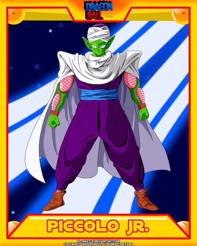 DB-Piccolo JR. by el-maky-z